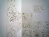 Pauer_Ausstellungsansicht-2013_Zeichnungen-darber-hinaus_20-teilig